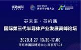 国际第三代半导体产业发展高峰论坛