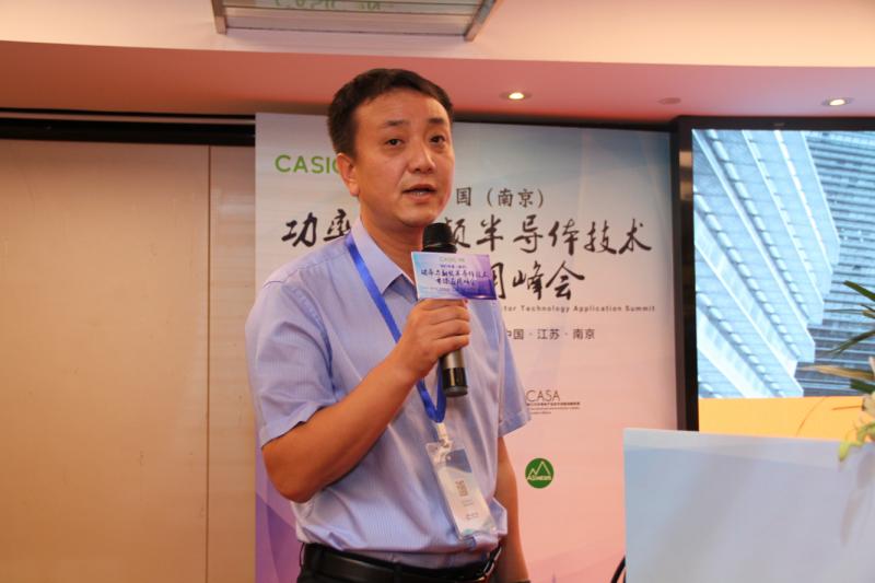 青岛聚能创芯微电子有限公司应用技术总监刘海丰